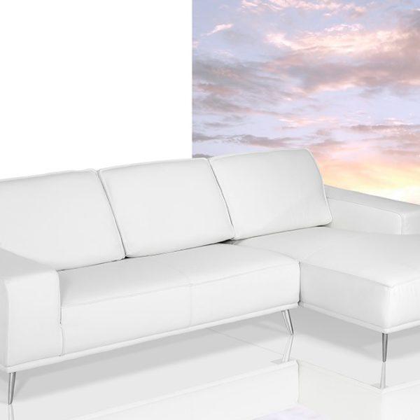dima elite u2013 modern italian white leather sectional